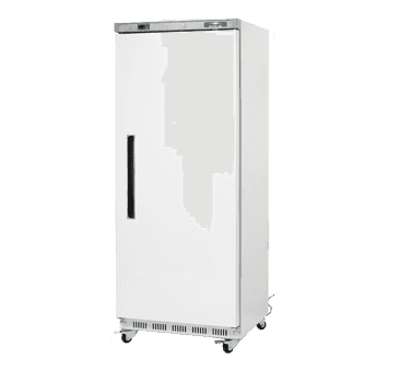Arctic Air AWR25 30.75'' 25 cu. ft. Bottom Mounted 1 Section Solid Door All Stainless Steel Reach-In Refrigerator