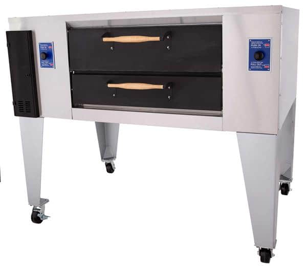 Bakers Pride DS-805-DSP Super Deck Series Display Pizza Deck Oven