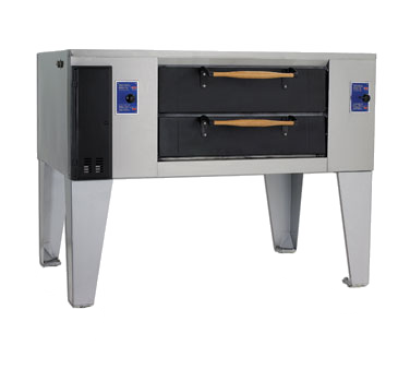 Bakers Pride DS-805-DSP Super Deck Series Display Pizza Deck Oven
