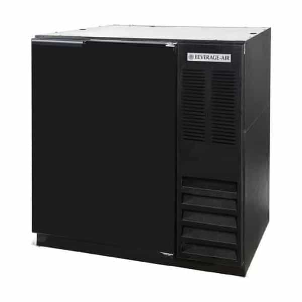 Beverage Air BB36HC-1-F-B Refrigerated Food Rated Back Bar Storage Cabinet