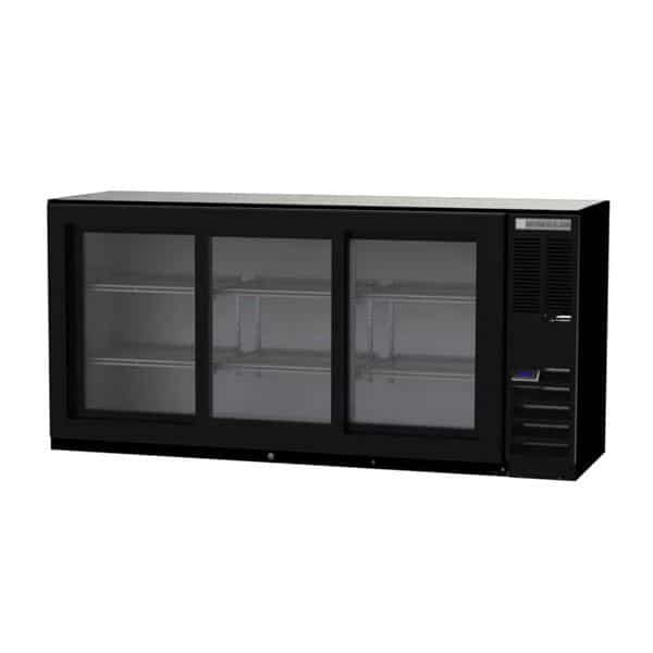 Beverage Air BB72HC-1-F-GS-B Refrigerated Food Rated Back Bar Storage Cabinet