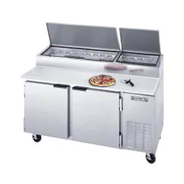 Beverage Air DP67 Pizza Top Refrigerated Counter
