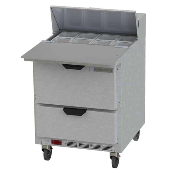 Beverage Air SPED27HC-C-B Elite Series™ Sandwich Top Refrigerated Counter