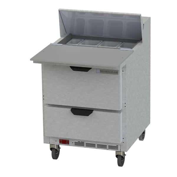 Beverage Air SPED27HC-C Elite Series™ Sandwich Top Refrigerated Counter
