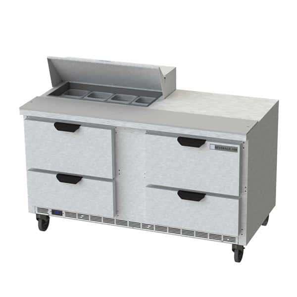 Beverage Air SPED60HC-08-4 Elite Series™ Sandwich Top Refrigerated Counter