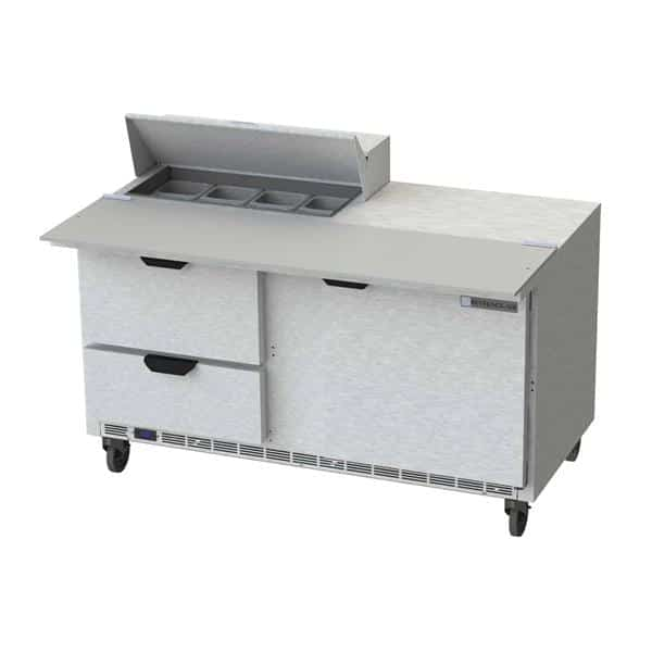 Beverage Air SPED60HC-08C-2 Elite Series™ Sandwich Top Refrigerated Counter