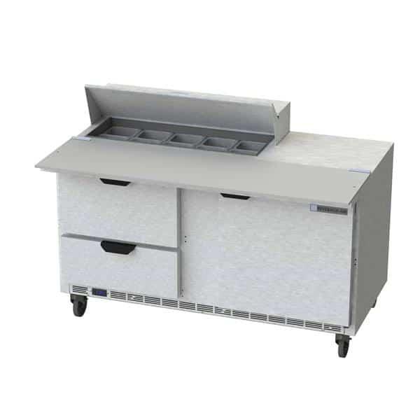 Beverage Air SPED60HC-10C-2 Elite Series™ Sandwich Top Refrigerated Counter