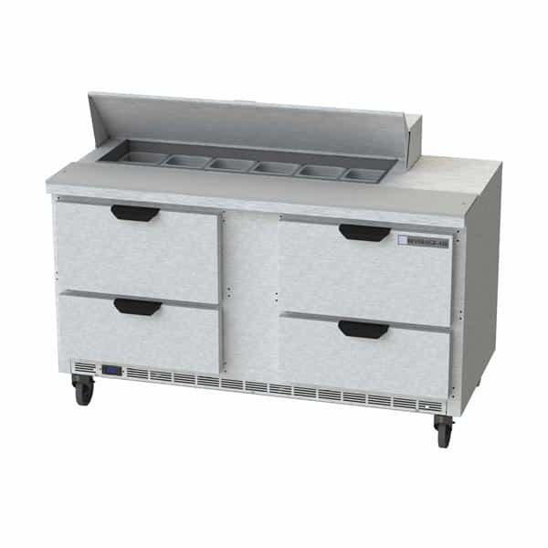 Beverage Air SPED60HC-12-4 Elite Series™ Sandwich Top Refrigerated Counter