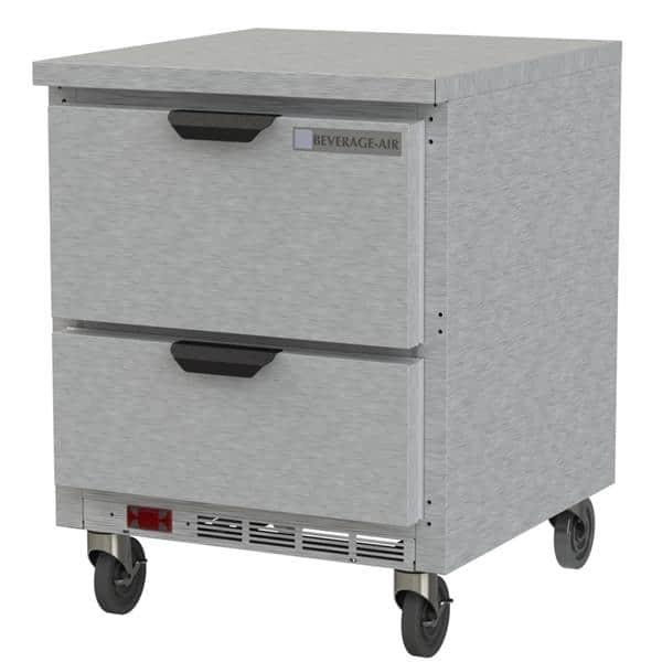 Beverage Air WTRD27AHC-2-FLT Worktop Refrigerator