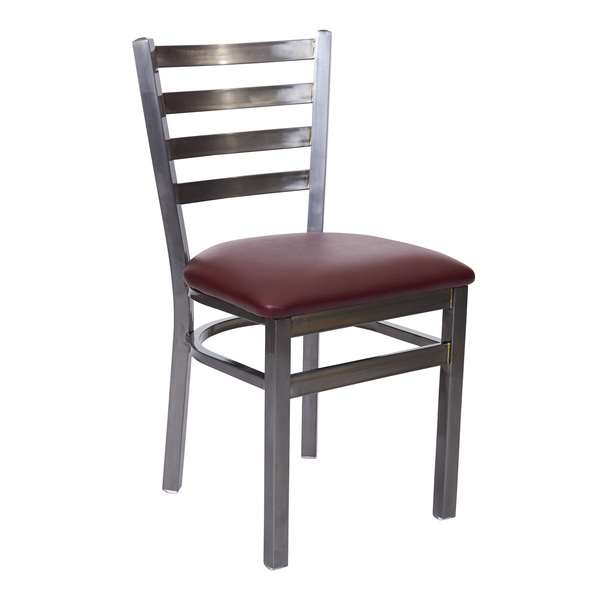 BFM Seating 2160C-CL GR1 Lima Side Chair
