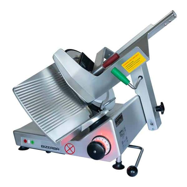 Bizerba GSP H I 90-60HZ-220V Manual Heavy Duty Illuminated Safety Slicer