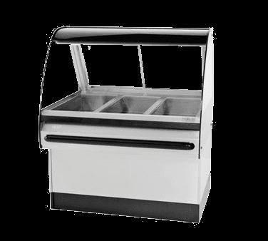 BKI WDCG-3T Global Heated Display Merchandiser
