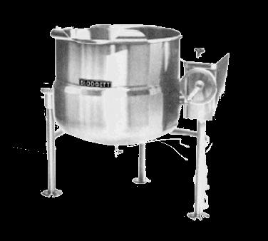 Blodgett Steam KLT-40DS Tilting Kettle