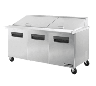 Blue Air Blmt72 Mega Top Sandwich Prep Table