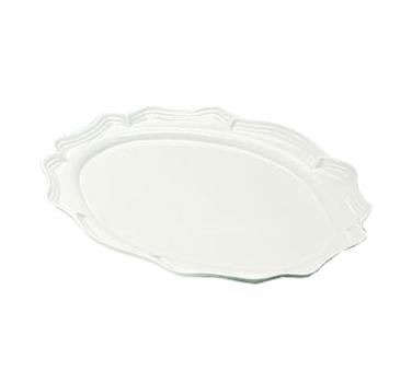 Bon Chef 2028SMOKEGRA Queen Anne Platter