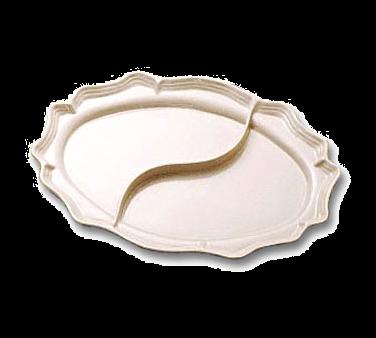 Bon Chef 2029DCABERNET Queen Anne Divided Platter
