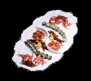 Bon Chef 2032DTANGREVISION Queen Anne Platter