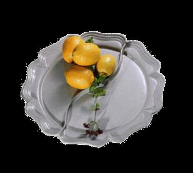 Bon Chef 2036DPWHT Queen Anne Divided Platter