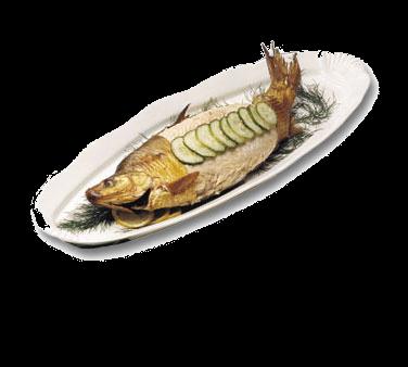 Bon Chef 2063DKBLU Shell Fish Platter