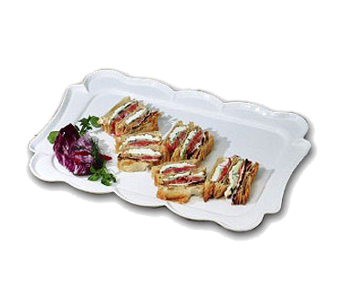 Bon Chef 2097FGLDREVISION Queen Anne Platter