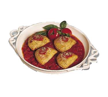 Bon Chef 2107TEAL Bolero Platter
