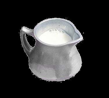 Bon Chef 4041PWHT Traditional Creamer