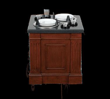 Bon Chef 50104H Plate & Flatware Dispenser
