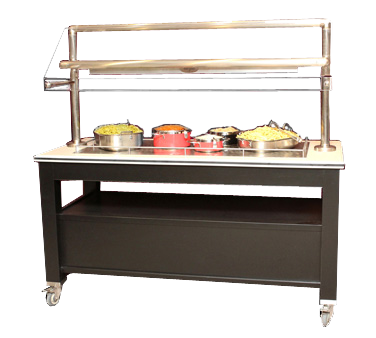 Bon Chef 50157 Radiant Heated Mobile Buffet Station