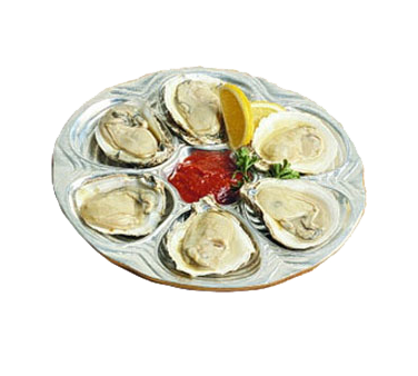 Bon Chef 5017HGRN Oyster/Clam Plate