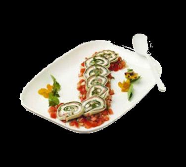 Bon Chef 5061BLKSPKLD Shallow Serving/Casserole Dish