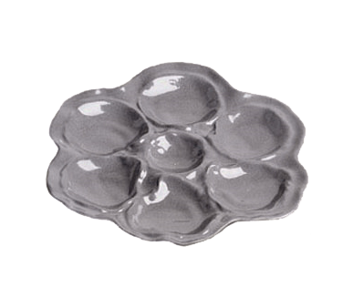 Bon Chef 5079BLK Oyster Plate