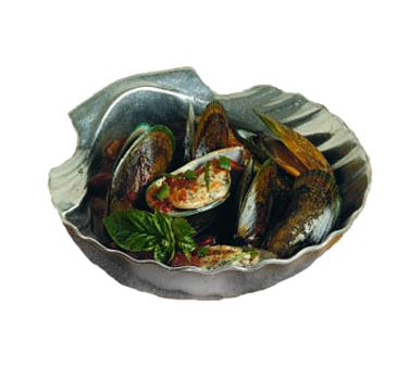 Bon Chef 5082BLKSPKLD Deep Shell/Small Bowl