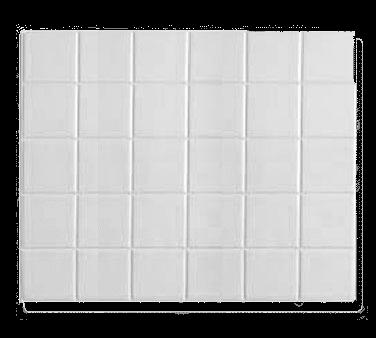 Bon Chef 52001WHTM E Z Fit Tile