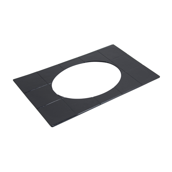 Bon Chef 52015SMOKEGRA E Z Fit Tile Tray with Hole Shell Casserole