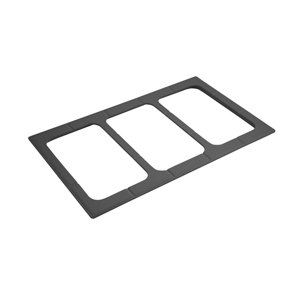 Bon Chef 52027PWHT E Z Fit Custom Cut Tile