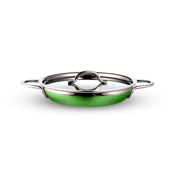 Bon Chef 71305-CF2-L Country French X Saute Pan/Skillet  2 qt. 12 oz.