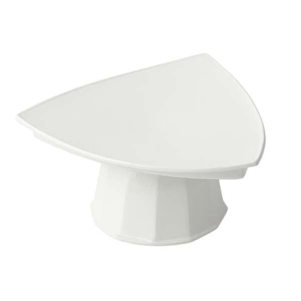 Bon Chef 90809106ALLERGENLAVENDER Pedestal Plate
