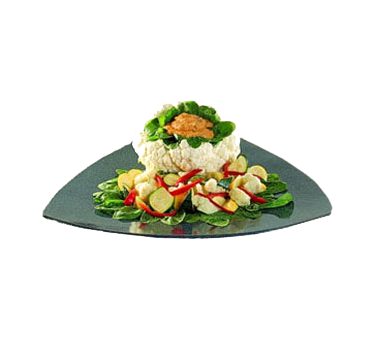 Bon Chef 9160PLATINUMGRA Serving Plate