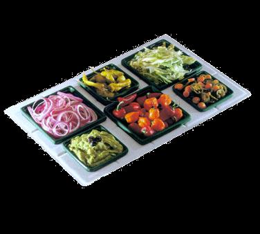 Bon Chef 960095023ALLERGENLAVENDER Tile Tray