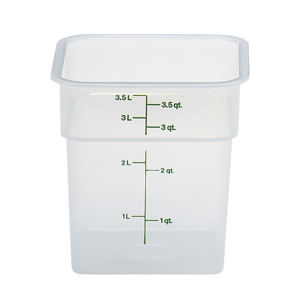 Cambro 4SFSPP190 CamSquare® Food Container