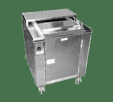 Carter-Hoffmann CD27 Heated Dish Storage Cart