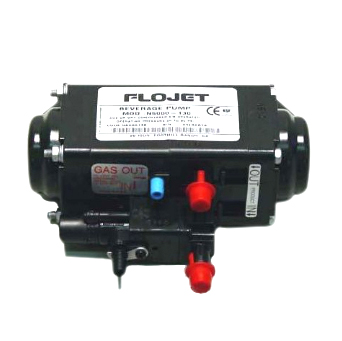 Cornelius 300175000 Flojet Gas Operated Pump  with plastic fittings