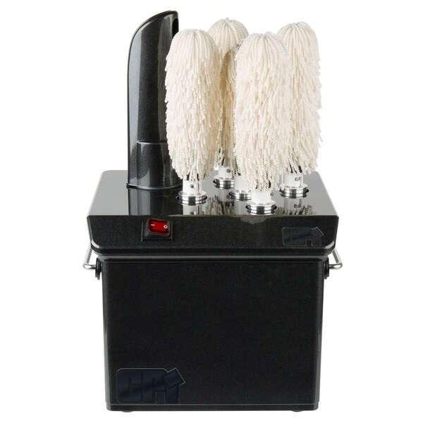 CPI (Campus Products Inc) GP5-BLACK Stemshine Pro™ Stemware Dryer/Polisher