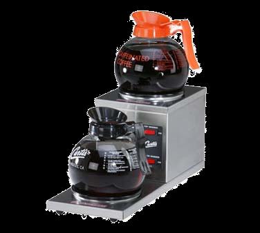 Curtis AW-2SR-10 Alpha® Decanter Warmer