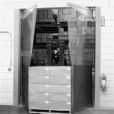 Curtron Products Products MP-C-160-120120-LT Mega-Pro® Flexible Swinging Door