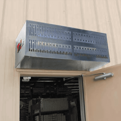 Curtron Products S-IBD-42-1-SS-EH Insect Back Door Air Curtain