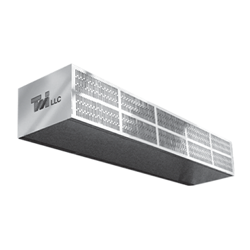 Curtron Products Products S-LP-84-2 Low Profile Air Curtain