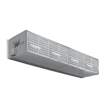 Curtron Products Products S-XHD-240-4-FILTER Extra Heavy Duty Industrial Air Curtain