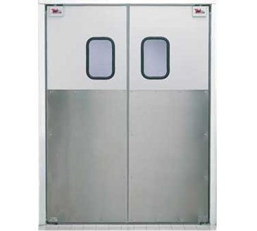 Curtron Products Products SPD-30-AL-DBL-8496 Service-Pro® Series 30 Double Swinging Door