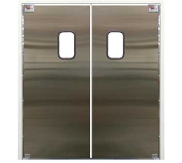 Photo of the Curtron Products SPD-30-SS-DBL-7284 Service-Pro® Series 30 Double Swinging Door